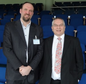 Richard May and Barry Blake