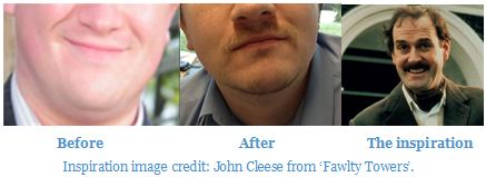 Andrew's Movember effort