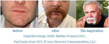 Peter's Movember effort