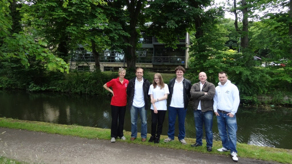 virtualDCS and Heart Research UK and their company walk.