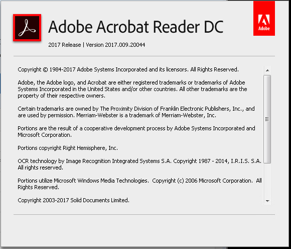 adobe reader out of memory issue