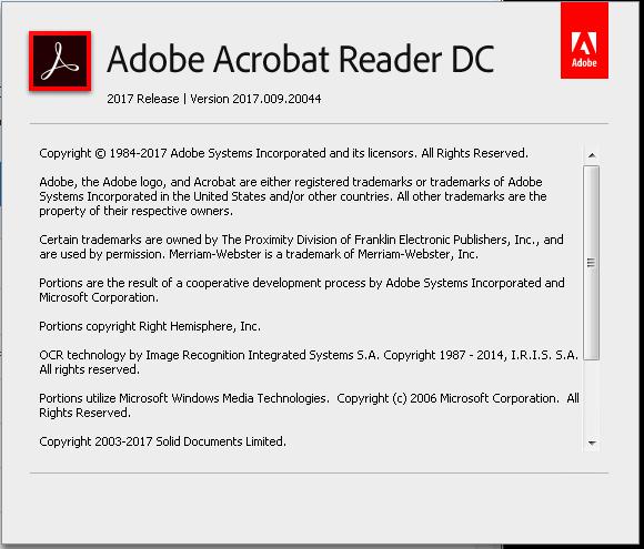 Adobe Acrobat reader rdrCEF