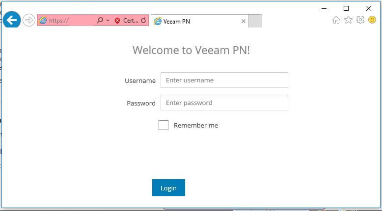 Veeam OpenVPN