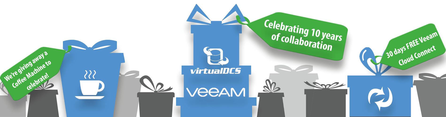 veeam cloud connect partner - virtualDCS