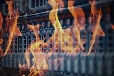 Data backup from Data Centre Fire