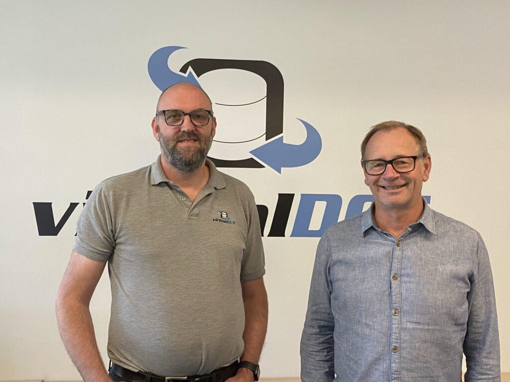 Cloud Computing experts Richard May and Jonathan Bunney